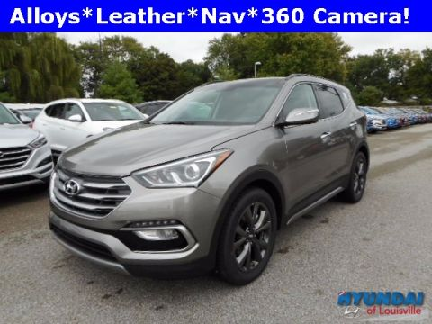 New 2018 Hyundai Santa Fe Sport 2.0L Turbo Ultimate with Navigation & AWD
