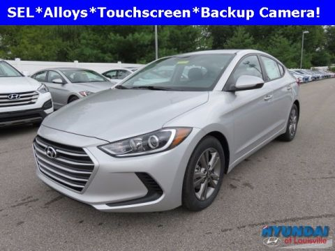 New 2018 Hyundai Elantra SEL FWD 4D Sedan