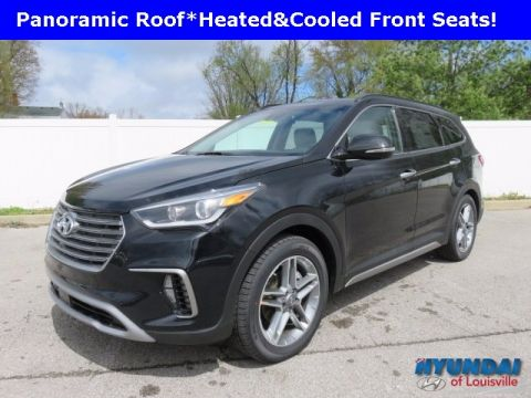 New 2017 Hyundai Santa Fe Limited Ultimate with Navigation