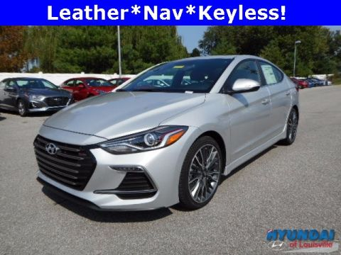 New 2018 Hyundai Elantra Sport with Navigation