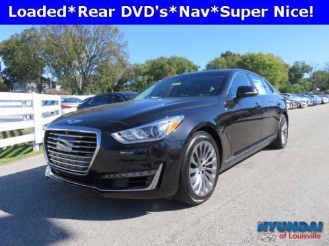 New 2018 Genesis G90 5.0 Ultimate with Navigation & AWD
