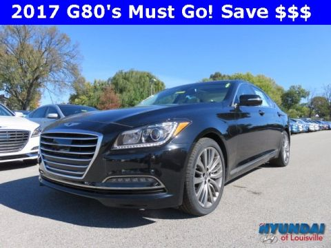 New 2017 Genesis G80 5.0 with Navigation