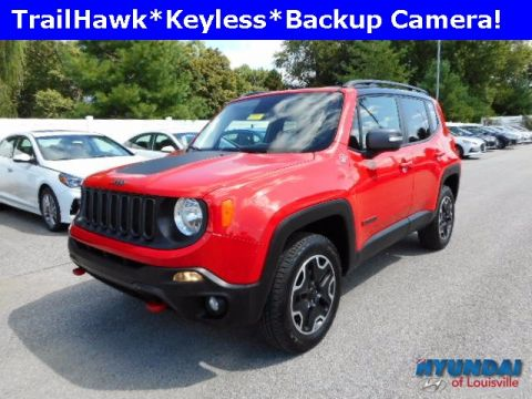 Pre-Owned 2017 Jeep Renegade Trailhawk 4WD