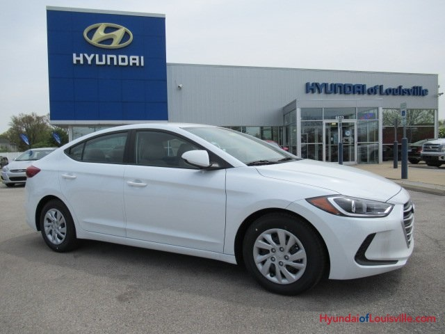 Hyundai Of Louisville >> New 2018 Hyundai Elantra Se 4d Sedan In Louisville 8h18393