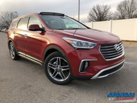 New 2018 Hyundai Santa Fe Limited Ultimate with Navigation & AWD